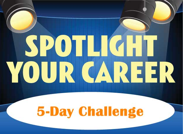 spotlight your career 5-day challenge